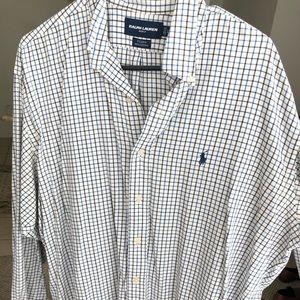 Ralph Lauren Golf Tilden long sleeve button down
